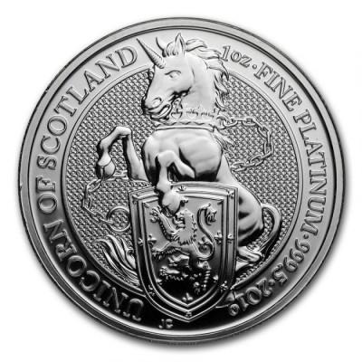 Platinum the Queen ' s Beasts 1 oz