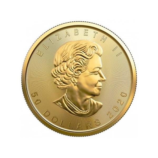 Zlatá mince Maple Leaf 1 Oz - 2020