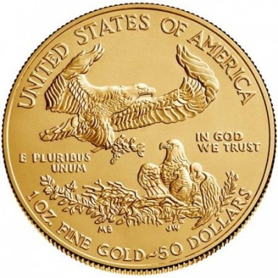 Zlatá mince American Eagle 1 Oz-2019