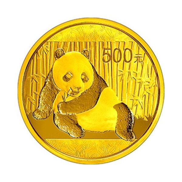 Zlatá mince Panda 1 Oz - 2015