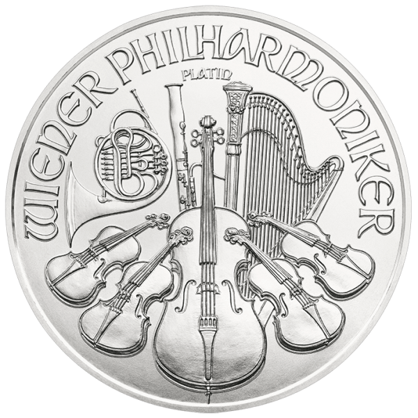 Platinová mince Wiener Philharmoniker 1oz